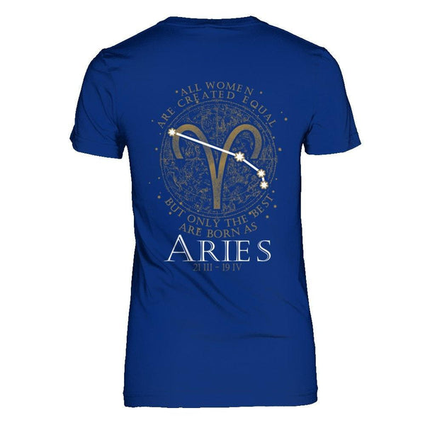Shirts - Best Women Are Born as Aries - Delightee.com