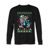 Shirts - Big Eye Santa Christmas Ugly Sweater Printed Style! - Delightee.com