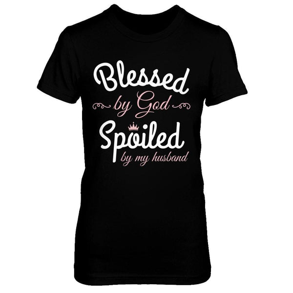 Shirts - Blessed by God Spoiled by my Husband - Delightee.com