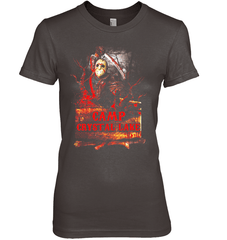 Camp Crystal Lake Next Level The Boyfriend Tee / Dark Chocolate / XS Apparel