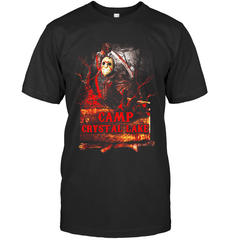 Camp Crystal Lake Next Level Unisex Fitted Tee / Black / XS Apparel