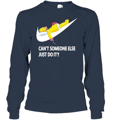 Can't Some Else Just Do It Gildan Long Sleeve T-Shirt / Navy / S Shirts