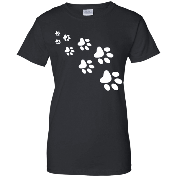 Apparel - Cat Paw Printed - Black - Delightee.com
