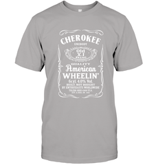 Cherokee - Whiskey Style Next Level Unisex Fitted Tee / Heather Grey / S Shirts
