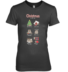 Christmas To-Do List Next Level The Boyfriend Tee / Black / XS Shirts