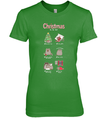 Christmas To-Do List Next Level The Boyfriend Tee / Forest Green / XS Shirts
