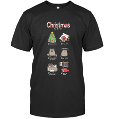 Christmas To-Do List Next Level Unisex Fitted Tee / Black / S Shirts