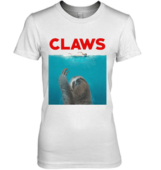 Claws Next Level The Boyfriend Tee / White / S Shirts