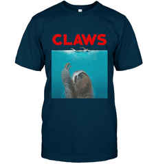 Claws Next Level Unisex Fitted Tee / Midnight Navy / S Shirts