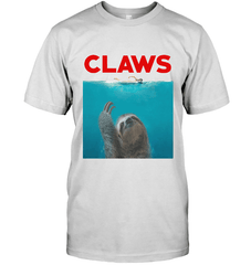 Claws Next Level Unisex Fitted Tee / White / S Shirts