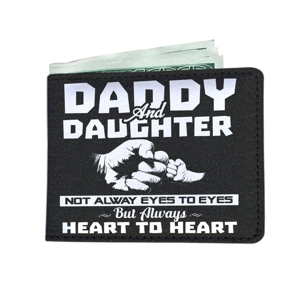 Mens Wallet - Daddy And Daughter - Always Heart To heart - Mens Wallet - Delightee.com