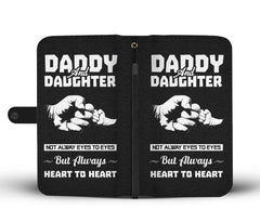 Daddy And Daughter - Always Heart To Heart - Wallet Case Wallet Case