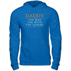 Daddy - The Man The Myth The Legend Gildan - Pullover Hoodie / Royal / S Shirts