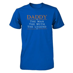 Daddy - The Man The Myth The Legend Next Level - Unisex Fitted Tee / Royal / XS Shirts
