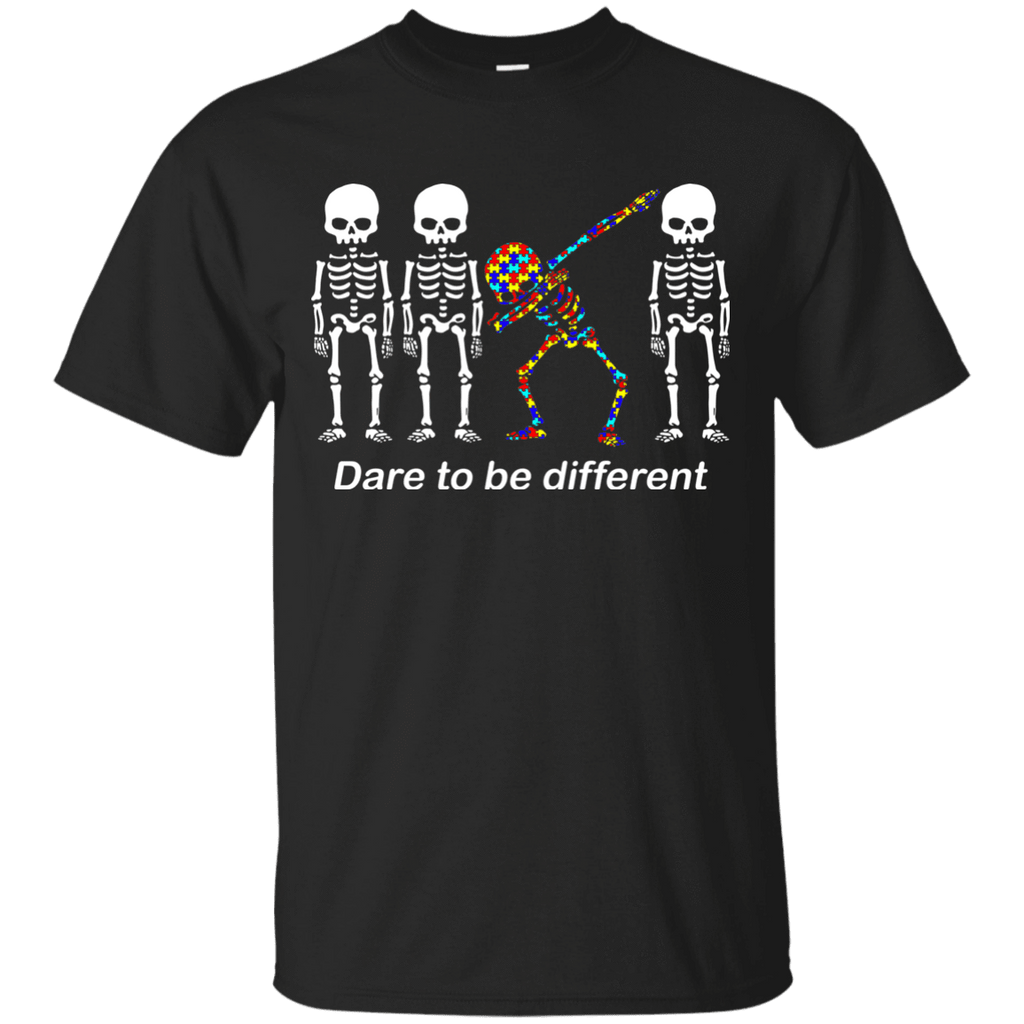 Dare To Be Different G200 Gildan Ultra Cotton T-Shirt / Black / S Apparel
