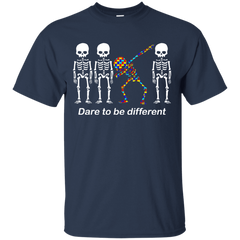 Dare To Be Different G200 Gildan Ultra Cotton T-Shirt / Navy / S Apparel