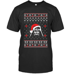 Darth Vader Christmas Next Level Unisex Fitted Tee / Black / XS Shirts