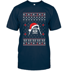Darth Vader Christmas Next Level Unisex Fitted Tee / Midnight Navy / XS Shirts