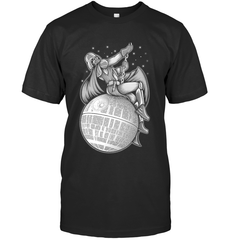 Darth Vader Wrecking Ball Next Level Unisex Fitted Tee / Black / XS Apparel