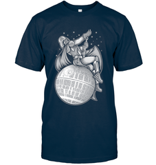 Darth Vader Wrecking Ball Next Level Unisex Fitted Tee / Midnight Navy / XS Apparel