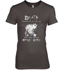Death Smiles At Us Next Level The Boyfriend Tee / Dark Chocolate / S Shirts