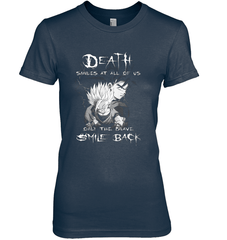 Death Smiles At Us Next Level The Boyfriend Tee / Midnight Navy / S Shirts