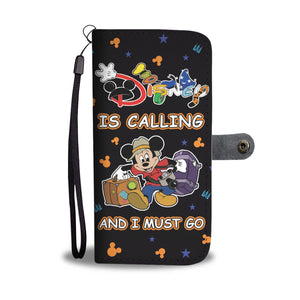 Wallet Case - Disney Is Calling - Wallet Case - Delightee.com