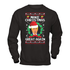 Shirts - Donald Trump - Make Christmas Great Again Ugly Christmas Sweater - Delightee.com