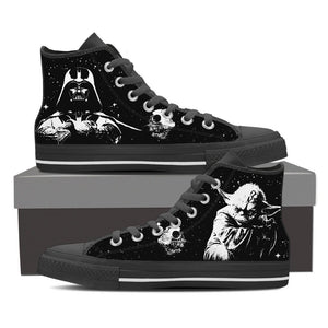Shoes - Exclusive Darth Vader & Yoda Shoes - Delightee.com
