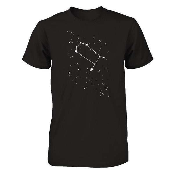 Gemini Constellation Next Level - Unisex Fitted Tee / Black / XS Shirts