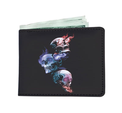 Hear No Evil Skull Wallet Case - Mens Wallet Mens Wallet