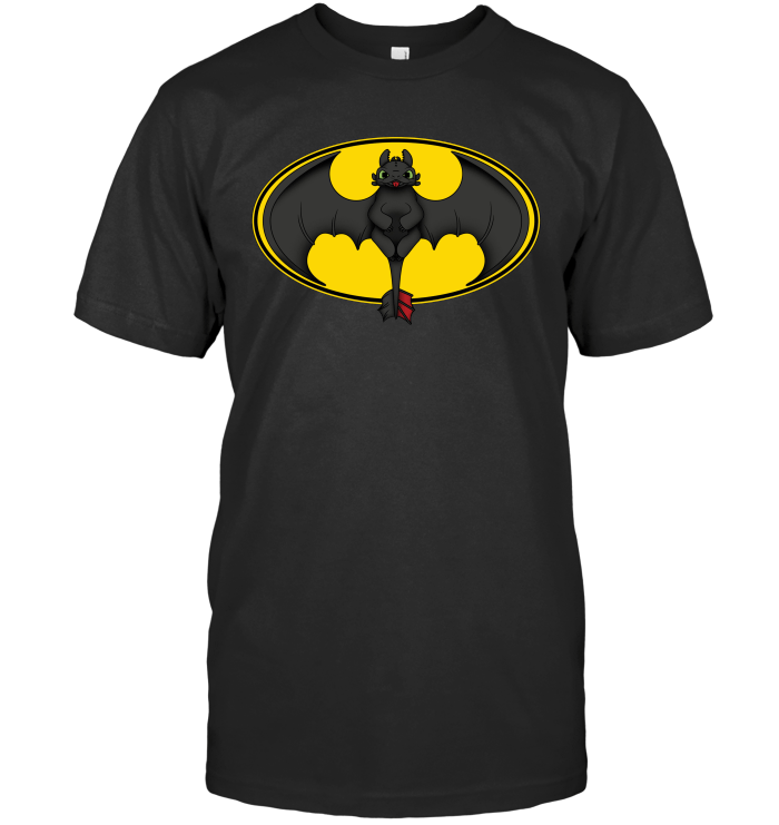 How To Train Your Bat Next Level Unisex Fitted Tee / Black / S Shirts