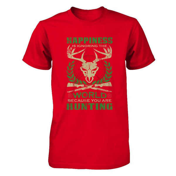 Hunting - Ignoring The World - Men Red / XS Shirts