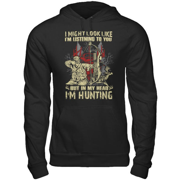 In My Head - I'm Hunting - Hoodie Black / S Shirts