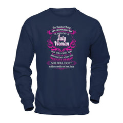 July Woman Gildan - Pullover Sweatshirt / Navy / S Shirts