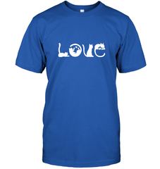 Love Cat Gildan Ultra Cotton T-Shirt / Royal / S Shirts