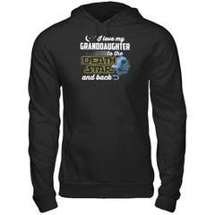 Love My Granddaughter to The Death Star Gildan - Pullover Hoodie / Black / S Shirts