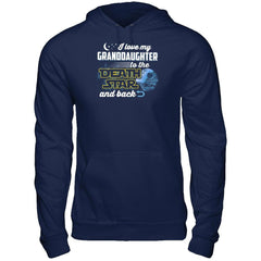 Love My Granddaughter to The Death Star Gildan - Pullover Hoodie / Navy / S Shirts