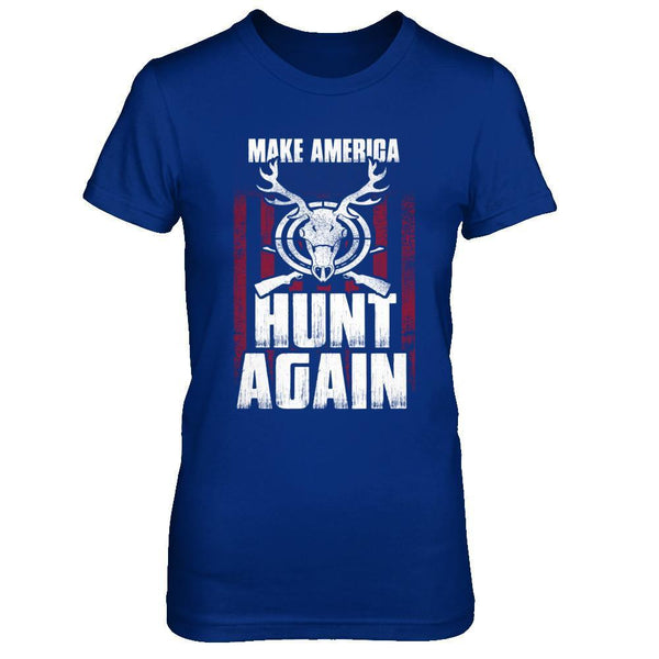 Make America Hunt Again - Women Royal Blue / XS Shirts
