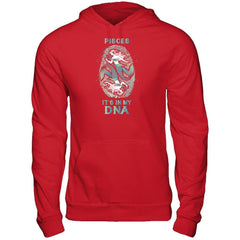 Pisces DNA - Women Style Gildan - Pullover Hoodie / Red / S Shirts