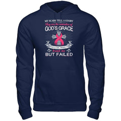 Scars of Breast Cancer Gildan - Pullover Hoodie / Navy / S Shirts