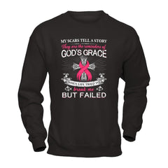 Scars of Breast Cancer Gildan - Pullover Sweatshirt / Black / S Shirts