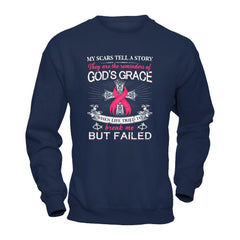Scars of Breast Cancer Gildan - Pullover Sweatshirt / Navy / S Shirts