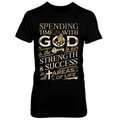 Spending time with God Black / XS Shirts