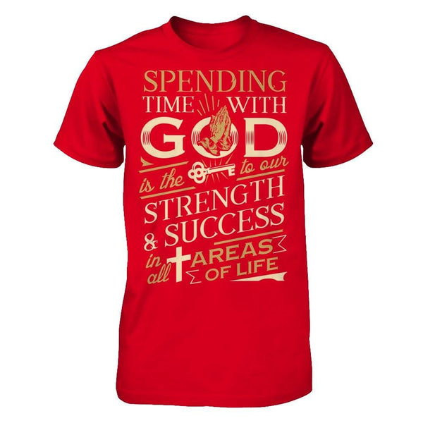 Spending time with God Red / XS Shirts