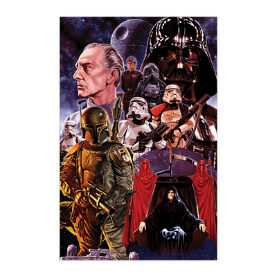Star Wars Villains Poster Poster - 11x17 Posters
