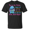 Stitch Family Custom Ultra Cotton T-Shirt / Black / Small Shirts