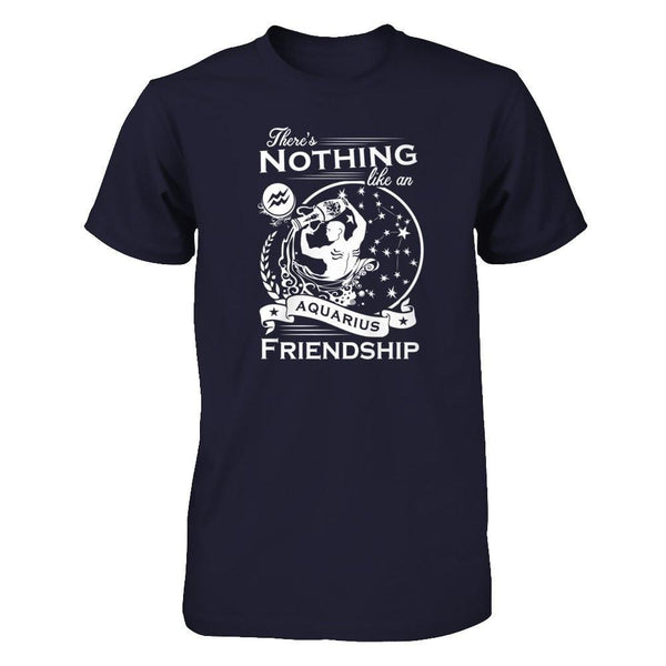 There's nothing like a Aquarius Friendship Next Level - Unisex Fitted Tee / Midnight Navy / XS Shirts
