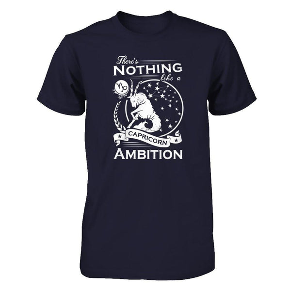There's Nothing Like a Capricorn Ambition Next Level - Unisex Fitted Tee / Midnight Navy / XS Shirts