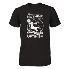 There's Nothing Like a Sagittarius Optimism Next Level - Unisex Fitted Tee / Black / XS Shirts